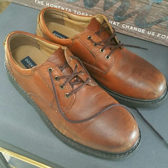 Dockers Shoes   Mens Leather Lace Up